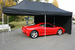 6m x 3m Commercial Pop Up Gazebo (Inc Frame + Top + Side Walls)